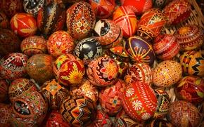 Picture pattern, texture, Easter, Ukraine, Pysanka