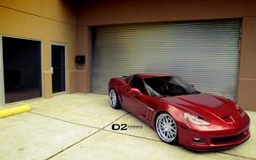 Picture Corvette, Chevrolet, Grand, Sport, Wheels, D2FORGED, 20″, FMS01
