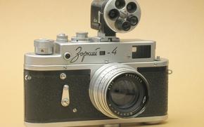 Picture the camera, legend, Zorki-4