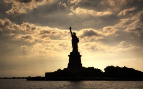Picture New York, New York, Statue of liberty, The statue of liberty