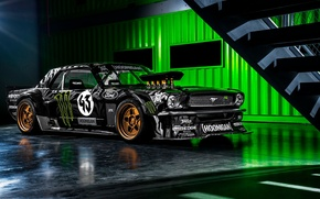 Picture Mustang, Ford, Tuning, Race