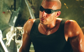 Picture The Chronicles of Riddick, The Chronicles Of Riddick, VIN Diesel, Vin Diesel, Riddick