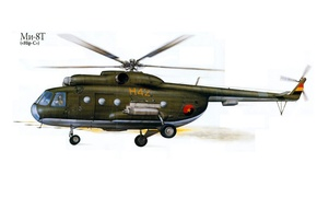 Picture figure, USSR, helicopter, Mi-8