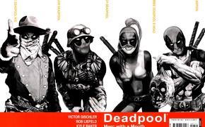 Picture Deadpool, Marvel, Deadpool, comic, comics, Wade Wilson, Marvel, Lady Deadpool, Wade Wilson, The Deadpool Kid, …