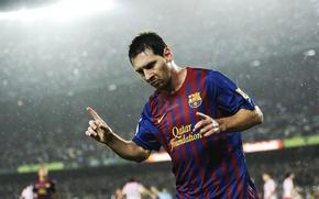 Wallpaper Lionel Messi, football, Lionel Messi, Leo, FC Barcelona, people, FC Barcelona, form, stadium, football, Qatar ...