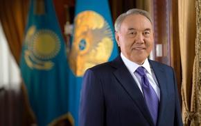 Picture flag, President, Kazakhstan, standard, Nazarbayev