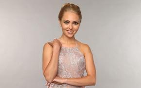 Picture girl, smile, model, dress, actress, blonde, AnnaSophia Robb, Anna Sophia Robb
