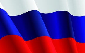 Picture white, blue, red, power, power, flag, Putin, Russia, tricolor