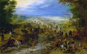Picture picture, Ambush, genre, Jan Brueghel the elder