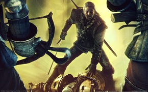 Wallpaper battle, the Witcher, the witcher 2, assassins of kings