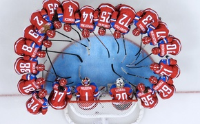 Picture ice, women, round, gate, Olympics, team, hockey, Olympic games, Sochi 2014, sochi 2014, women's team