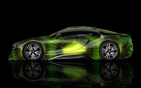 Picture Black, BMW, BMW, Background, Kiwi, Kiwi, Green, Photoshop, Green, Black, Fruit, el Tony Cars, Fruit, …