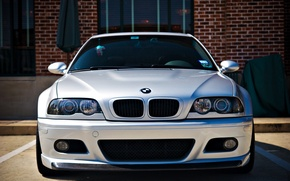 Picture BMW, BMW, before, silver, silver, E46