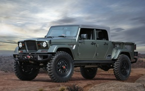 Picture Concept, Jeep, Crew, Jeep, Chief, 715