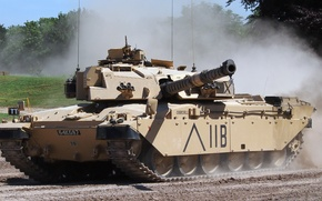 Wallpaper UK, Challenger, British tank, Challenger, Vickers Defence Systems, FV4030/4