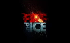 Picture ice, fire, ice, Fire