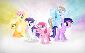 Picture animation, pony, frandshipe