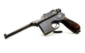 "Picture gun, ""Mauser"", store, Mauser C96"