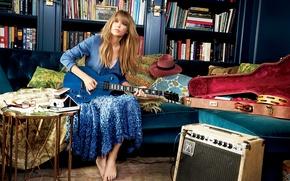 Picture Taylor Swift, photoshoot, Glamour magazine