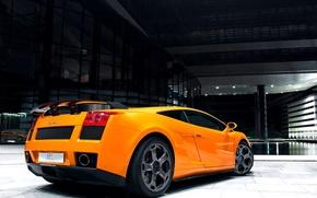 Picture 2008, Lamborghini, Gallardo, supercar, yellow, GT 540, Bf performance