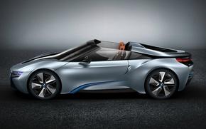 Picture machine, wheel, profile, supercar, BMW i8 concept