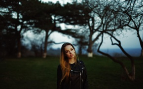 Picture girl, model, jacket, photographer, Tamara, Konstantin Konya