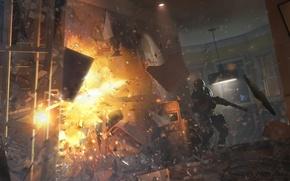 Picture shield, shotgun, special forces, Rainbow six: Siege