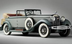 Picture retro, convertible, wheel