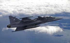 Picture the sky, the plane, combat interceptor