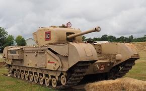 Picture tank, armor, Churchill, Churchill, Mk VI