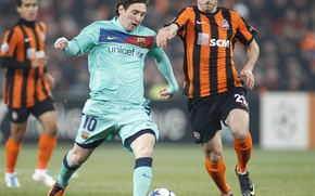 Picture football, messi, barselona, donbass arena 2011, shakhtar