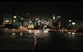 Picture game, rain, grand theft auto, Gta, the saints, Gta V