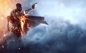 Picture Electronic Arts, DICE, Equipment, Weapons, Frostbite, Battlefield 1, Battlefield 1, Battlefield One, The Ultimate Edition