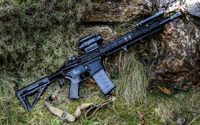 Picture weapons, assault rifle, magpul