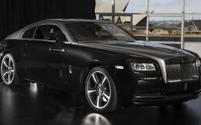 Picture Rolls-Royce, Black, Sydney, Wraith