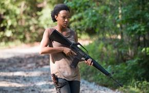 Picture Sasha, The Walking Dead, Sonequa Martin-Green, episode-2, season 5
