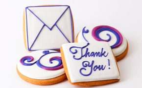 Picture letter, food, cookies, dessert, food, sweet, sweet, thank you, letter, dessert, cookies, biscuits, thank you