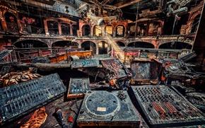 Wallpaper ray, club, remote, disco, the defeat