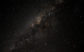 Wallpaper space, mystery, Milky Way