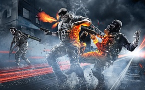 Picture war, soldiers, the bandits, war, Battlefield 3, Battlefield 3