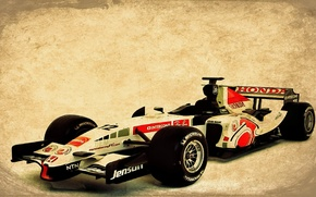 Picture honda, cars, race, F1 2006
