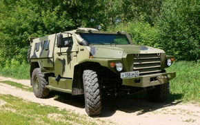 Picture wolf, Russia, armored car, for infantry troops and special forces