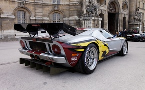 Wallpaper Ford, the rear part, Ford GT Gt3, Sports car