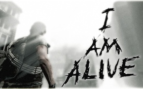 Picture fire, man, destruction, bow, game, alive, ubisoft, i am, the hero of the game