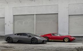 Picture 2008, Lamborghini, 1971, and, Miura, Bertone, P400, Blowout