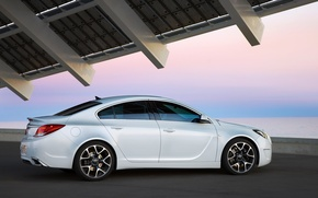 Picture Insignia, Opel, white