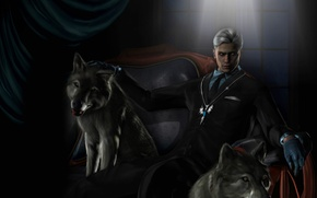 Picture amulet, wolf, devil may cry, dmc