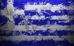 Wallpaper paint, Greece, flag, Hellenic Republic, Hellenic Republic