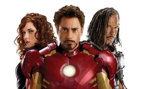 Picture actress, Scarlett Johansson, actor, villain, boxer, Black Widow, Robert Downey Jr., whip, Ivan Vanko, Mickey …