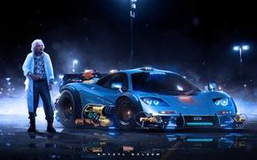 Picture Auto, Machine, Back to the Future, McLaren F1, Christopher Lloyd, Emmett Brown, Khyzyl Saleem, Christopher …
